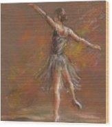 Ballet Dancer Wood Print