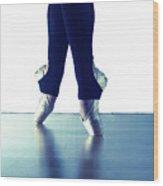 Ballet Feet 1 Wood Print