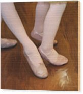 Ballet Girls Wood Print