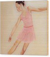 Ballet Practice Wood Print