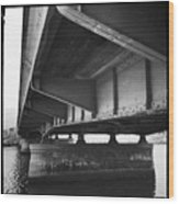 Ballona Creek Bridge Wood Print