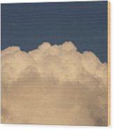 Balloon Cloud Wood Print