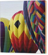 Balloon Color Wood Print