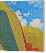 Balloon Fantasy 25 Wood Print