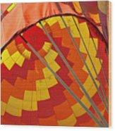 Balloon Fantasy 30 Wood Print