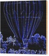 Balloon Festival Wood Print