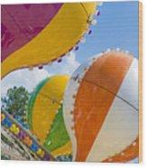 Balloon Fun Wood Print