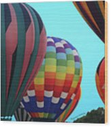 Balloon Glow I Wood Print