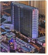 Bally's Hotel, Las Vegas Wood Print