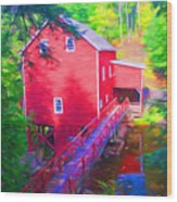 Balmoral Grist Mill Museum Wood Print