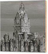 Balmoral Hotel Wood Print