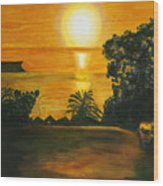 Balmoral Sunrise Wood Print