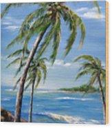 Balmy Breeze Wood Print