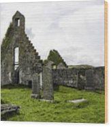 Balnakeil Church Wood Print