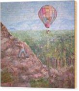 Baloon Wood Print