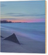 Baltcic Sea Wood Print
