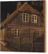 Baltic Houses Wood Print