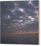 Baltic Sea, Sunset Wood Print