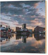 Baltimore Dawn Wood Print