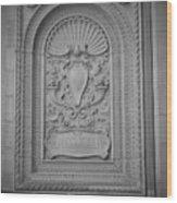 Baltimore Design Wood Print