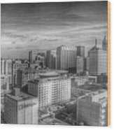 Baltimore Landscape - Bromo Seltzer Arts Tower Wood Print