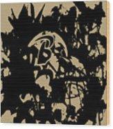Baltimore Ravens 1a Wood Print