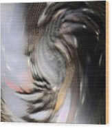 Bamaged Wood Print