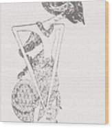 Bambang Sakutrem Wood Print by Dedi Dolrased