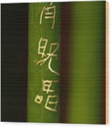 Bamboo 02 Wood Print