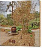 Bamboo At The Botanical Gardens Wood Print