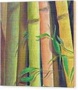 Bamboo Wood Print