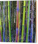 Bamboo Dreams #13 Wood Print