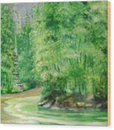 Bamboo Forests 1 Wood Print