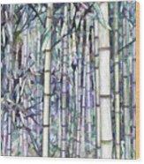 Bamboo Grove Wood Print