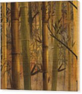 Bamboo Heaven Wood Print by Bedros Awak