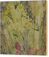 Bamboo In The Forest Wood Print