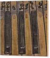 Bamboo Organ Keys Wood Print