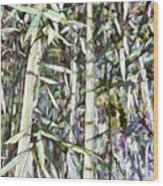 Bamboo Sprouts Forest Wood Print