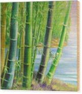 Bamboo Variegations Wood Print