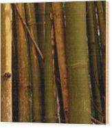 Bambusa Vulgaris Wood Print