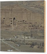 Bamiyan's Empty Alcoves Wood Print