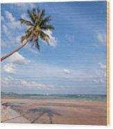 Ban Harn Beach Wood Print