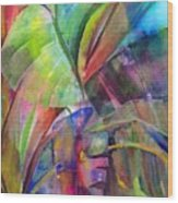 Banana Leaves IIi Wood Print