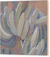 Banana Series 26 Wood Print