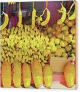 Bananas, Belize  Wood Print
