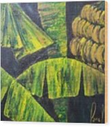 Bananas Wood Print