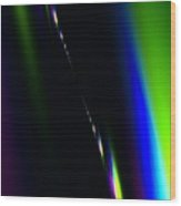 Band Of Colors Wood Print