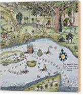 Bandar Abbas, 17th Century Wood Print