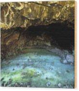 Bandera Ice Cave Wood Print