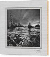 Bandon Beach 1 Wood Print